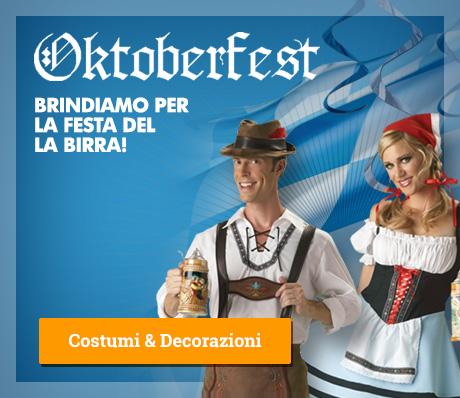 Oktoberfest: costumi, accessori e gadget