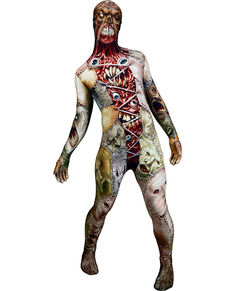 Costume volti spaventosi Monster Collection Morphsuit