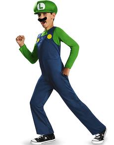 Costume Luigi classic da bambino