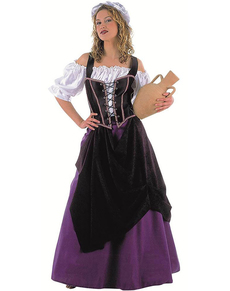 Costume da donna medievale