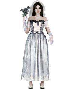 Costume da sposa fantasma da donna