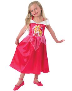 Costume da Aurora di La Bella Addormentata nel Bosco  fiaba da bambina