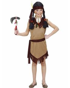 Costume da indiana cherokee per bambina