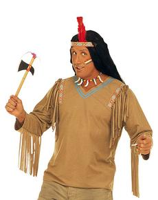 Kit costume da indiano per uomo