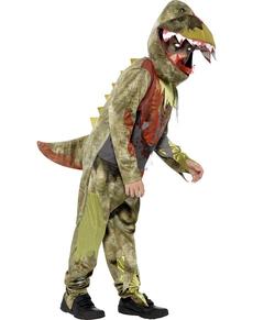 Costume da dinosauro zombie per bambino