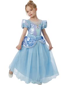 Costume Cenerentola prestige bambina