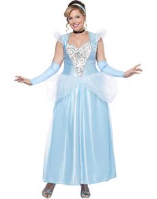 Costume da Cenerentola donna taglia grande