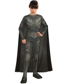 Costume Faora Superman bambina