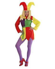 Costume da giullare da donna