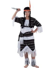 Costume da indiana Cherokee da bambina