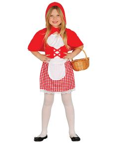Costume da bambina del bosco