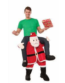 Costume da consegna speciale di Babbo Natale per adulto