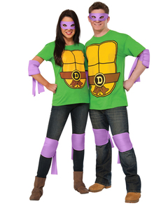 Kit accessori Donatello Tartarughe Ninja 2 per adulto