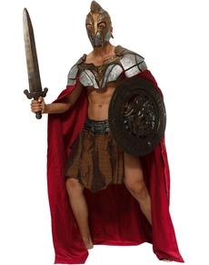 Costume da lottatore spartano per uomo