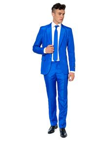 Abito Solid Blue Suitmeister