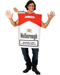Costume da pacchetto di sigarette per adulto