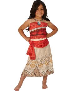 Costume Vaiana Oceania classic per bambina