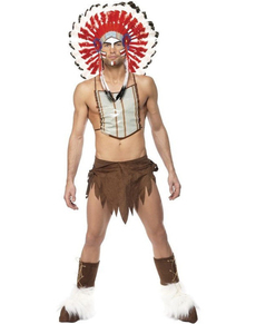 Costume da Village People Indiano